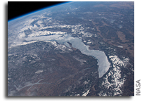 Russia, Mongolia and Lake Baikal Seen From Space