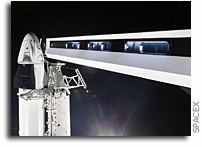 SpaceX Crew Access Arm