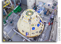 Orion Forward Bay Cover Jettison Test at Lockheed Martin