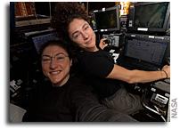 Blood Pressure, DNA Studies as Astronauts Prep for Complex Spacewalk Repairs