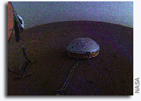 InSight Images Clouds on Mars