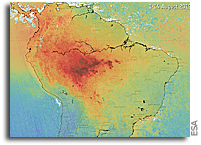 Orbital Monitoring Of Air Pollution From Fires