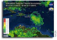 NASA Estimates Heavy Rainfall In Hurricane Dorian