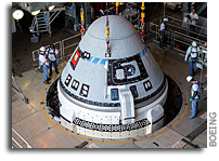 Boeing CST-100 Starliner Mated With United Launch Alliance Rocket For First Flight