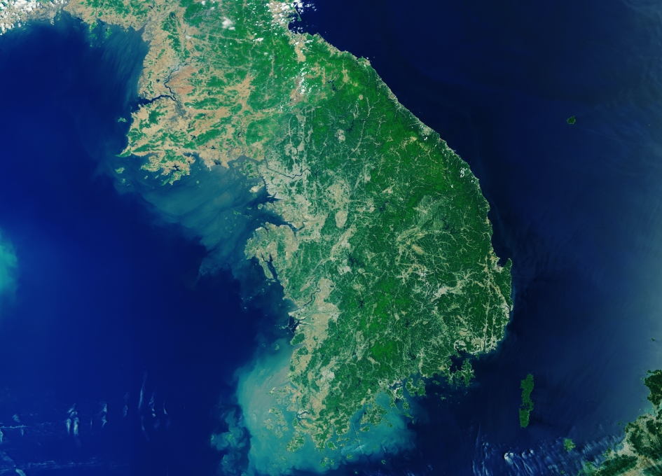 Earth from Space: The Korean Peninsula