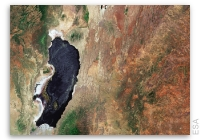 Earth from Space: Lake Natron, Tanzania