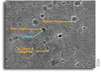 Mars Camera CaSSIS Returns Image Of InSight On Mars