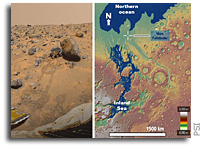 Pathfinder May Have Explored the Edges Of An Early Mars Sea In 1997