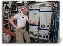 New Space Station Life Support System