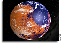 Geochemistry Constrains Global Hydrology On Early Mars
