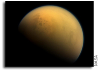 Bathtub Rings Around Titan's Lakes Might Be Made Of Alien Crystals