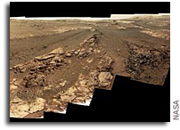 Opportunity's Last View Of Mars