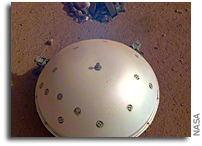 InSight Lander Captures Audio of First Likely Mars Quake