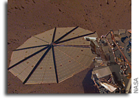 Mars Winds Clean InSight's Solar Planels