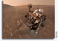 Curiosity Finds a Clay Cache On Mars