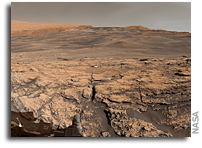 New Views From Gale Crater By Mars Curiosity