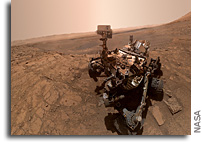 New Selfie From Mars Curiosity