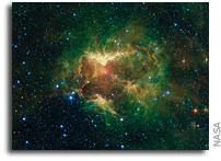 The Jack-o-Lantern Nebula