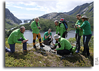 Astrogeology Training in Norway