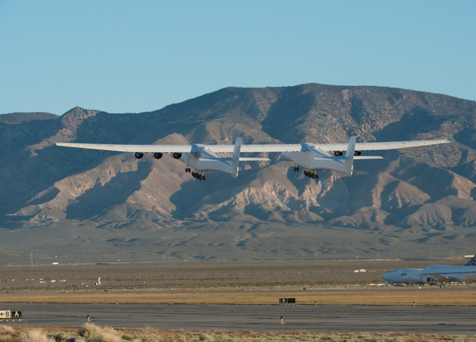Scaled Composites Flies World's Largest Wingspan Aircraft