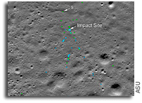 Vikram Lunar Lander Impact Site Located