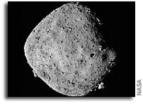 Water-bearing Minerals Discovered On Asteroid Bennu
