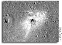 Beresheet Lunar Impact Site Spotted By LRO