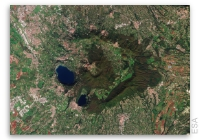 Earth from Space: Castelli Romani, Italy