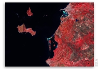 Earth from Space: Favignana, Levanzo and Western Sicily