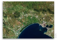 Earth from Space: Gulf of Taranto, Italy