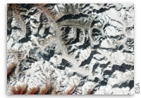 Earth from Space: Gangotri, India