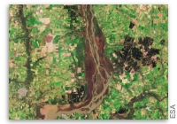 Earth from Space: Uruguay River Wetlands
