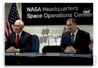 NASA Space Station On-Orbit Status 6 March 2019 - A Vice Presidential Call