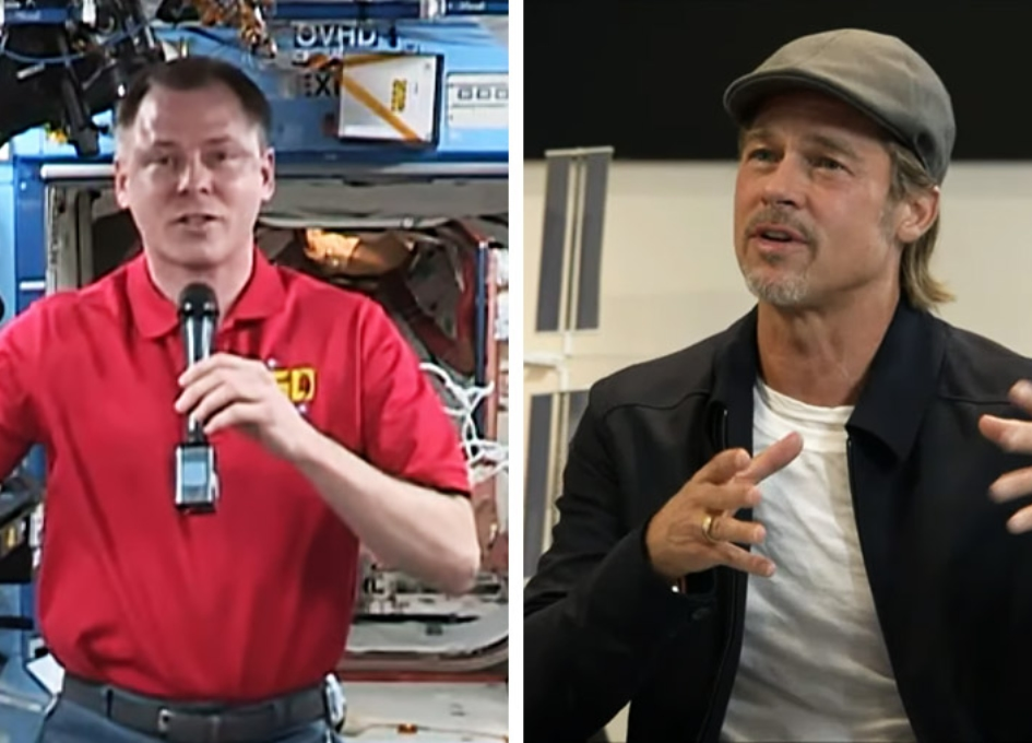NASA Space Station On-Orbit Status 16 September 2019 - A Chat With Brad Pitt
