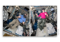 NASA Space Station On-Orbit Status 28 February 2019 - Virtual Reality Filming