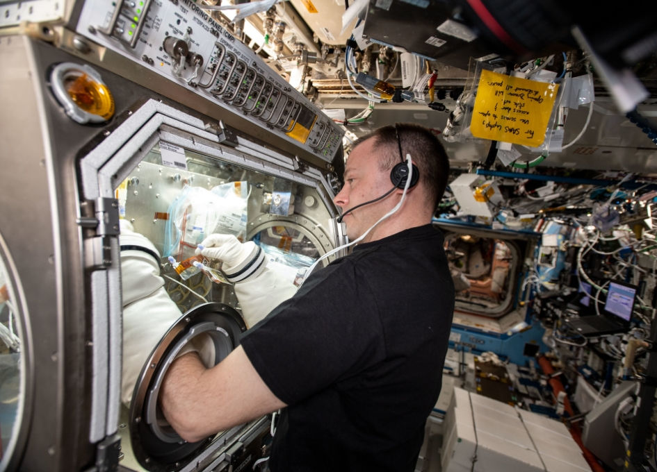 NASA Space Station On-Orbit Status 16 May 2019 - Immunology Research
