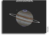 Juno Prepares to Jump Jupiter's Shadow