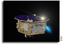 How LISA Pathfinder Detected Dozens of 'Comet Crumbs'