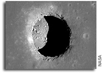 Lunar Pits Could Shelter Astronauts, Reveal Details of How 'Man in the Moon' Formed