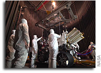 Mars 2020 Heads Into the Test Chamber