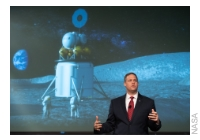 NASA Discusses Lunar Exploration Plans Including Humans on the Moon