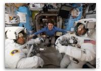 NASA Space Station On-Orbit Status 21 March 2019 - Final Suit Checks Ahead of Spacewalk