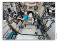 NASA Space Station On-Orbit Status 14 February 2019 - New Space Clothing for Astronaut Health