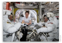 NASA Space Station On-Orbit Status 25 March 2019 - Expedition 59 Spacewalk 2 and 3 Update