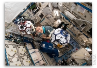NASA Space Station On-Orbit Status 9 August 2019 -  Students Test SPHERES