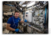 NASA Space Station On-Orbit Status 12 August 2019 - Stem Cells and Testing the Printing of Human Tissue