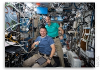NASA Space Station On-Orbit Status 30 August 2019 - Fluid Shifts Research