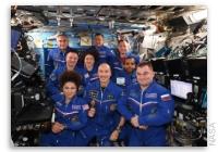NASA Space Station On-Orbit Status 2 October 2019 - Change of Command