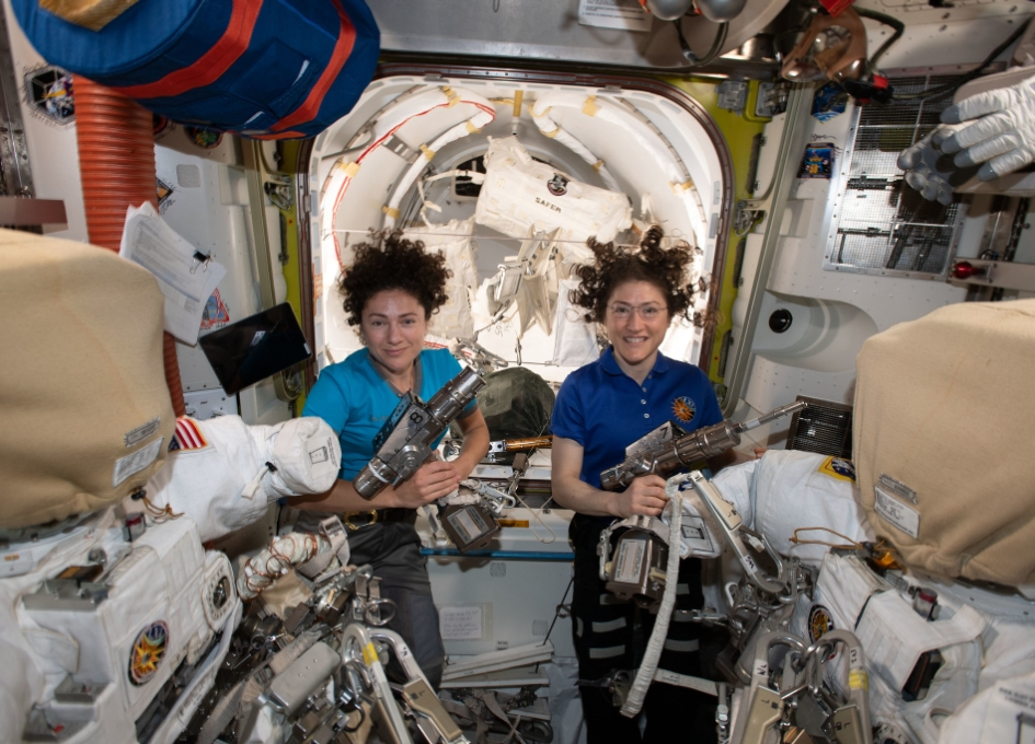 NASA Space Station On-Orbit Status 17 October 2019 - All-Female Spacewalk on Friday