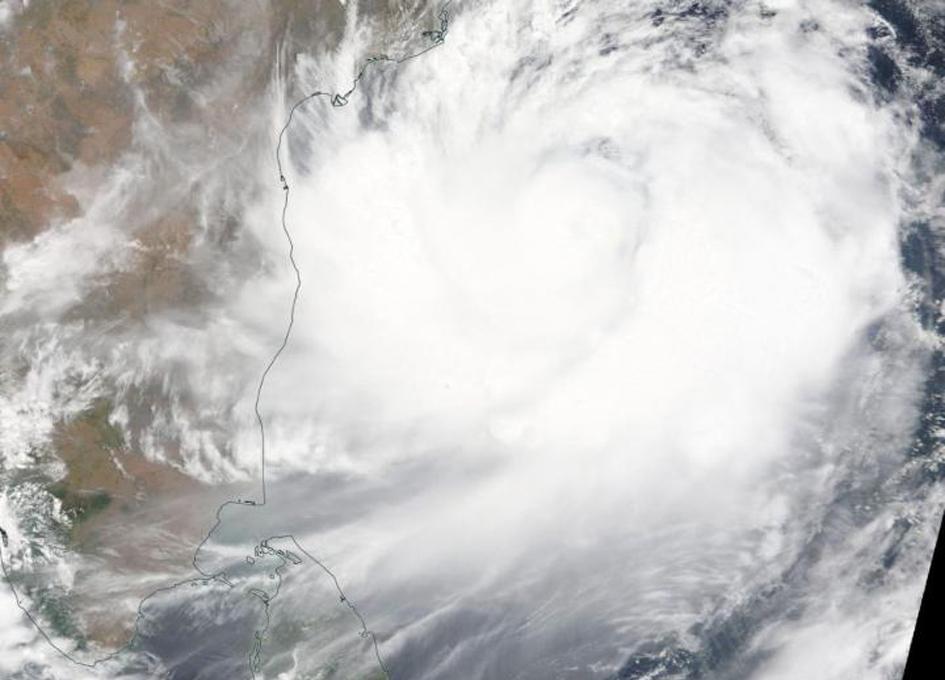 Tracking Tropical Cyclone Fani Along Eastern India's coastline